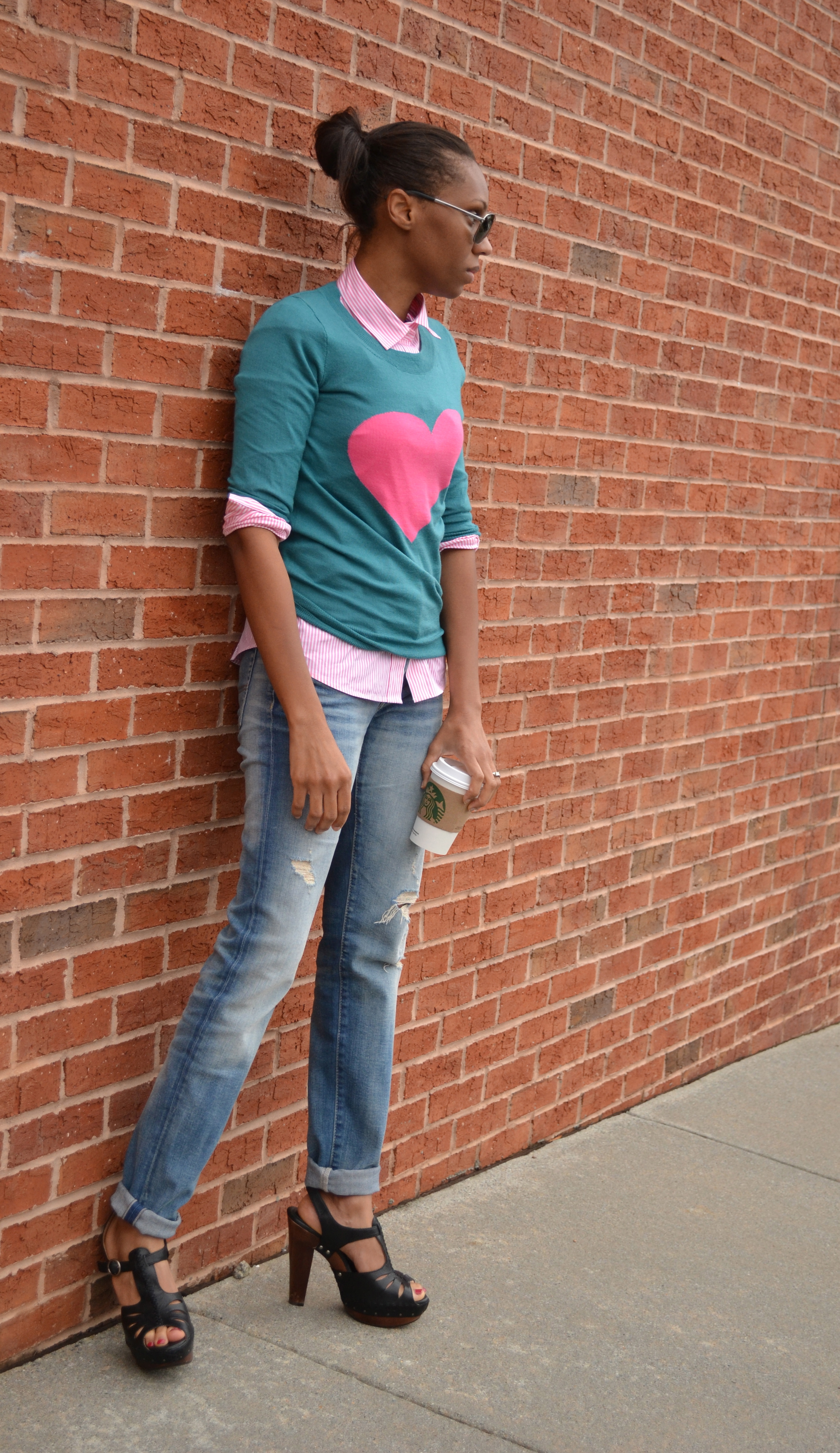 Wear to what with pink striped shirt fotos
